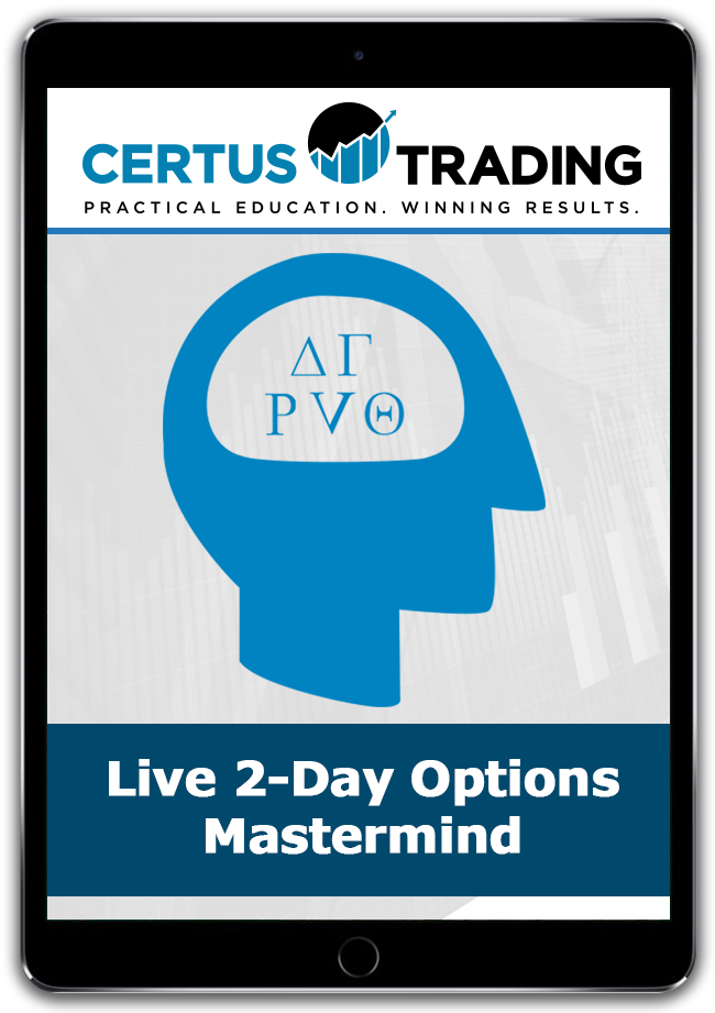 Live 2-Day Options Mastermind