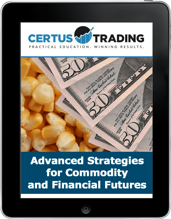 online course on Advanced Strategies for Commodities and Financial Futures,